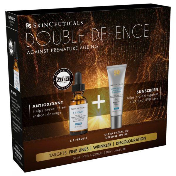 SkinCeuticals DOUBLE DEFENSE KIT (CE FERULIC + ULTRA FACIAL)