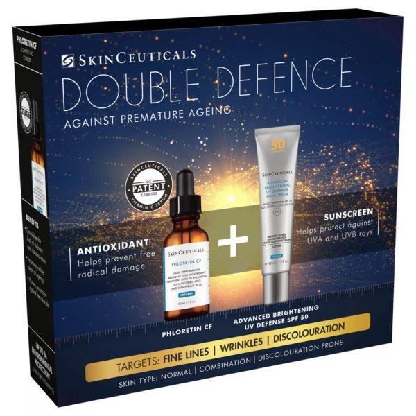 SkinCeuticals DOUBLE DEFENSE KIT (PHLORETIN CF + ADV BRIGHT)